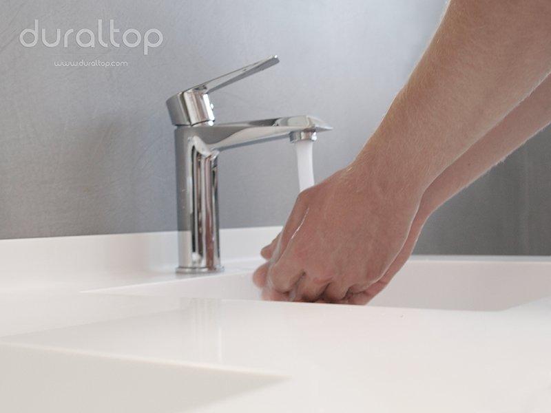 Lavabi in Corian, come pulire il Corian
