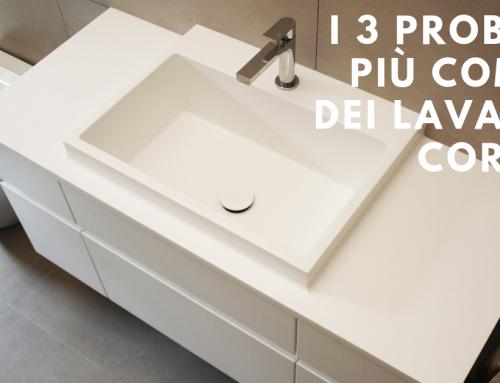I 3 problemi più comuni dei lavabi in Corian