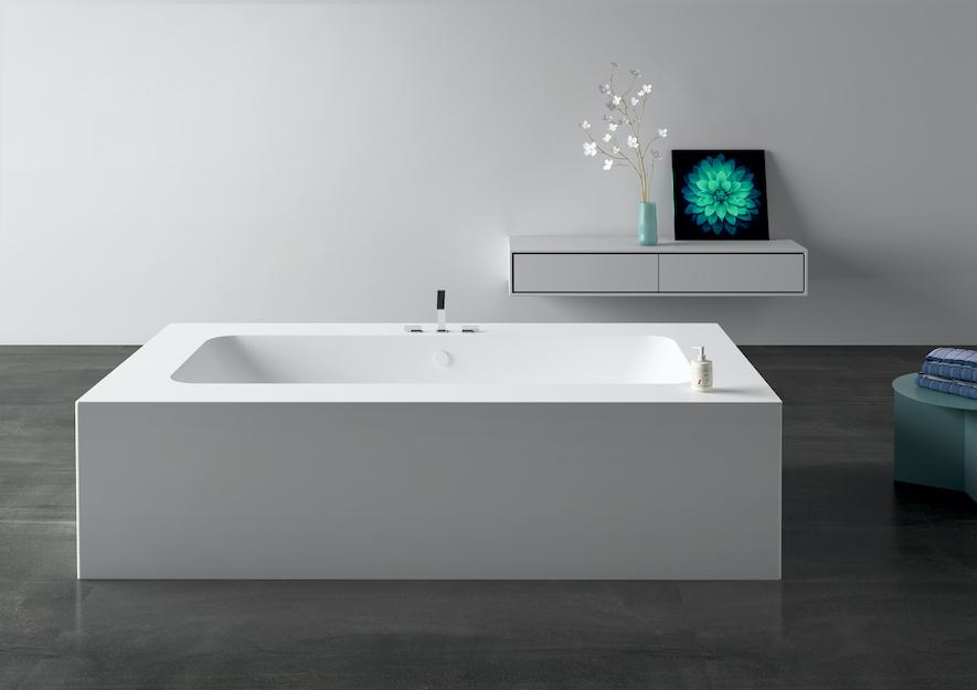 vasca da bagno in corian