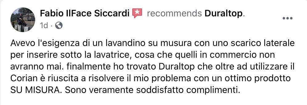 Recensione Duraltop - Fabio